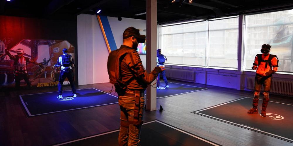 De nouvelles salles d'arcades de réalité virtuelle veulent transformer l'e-sport