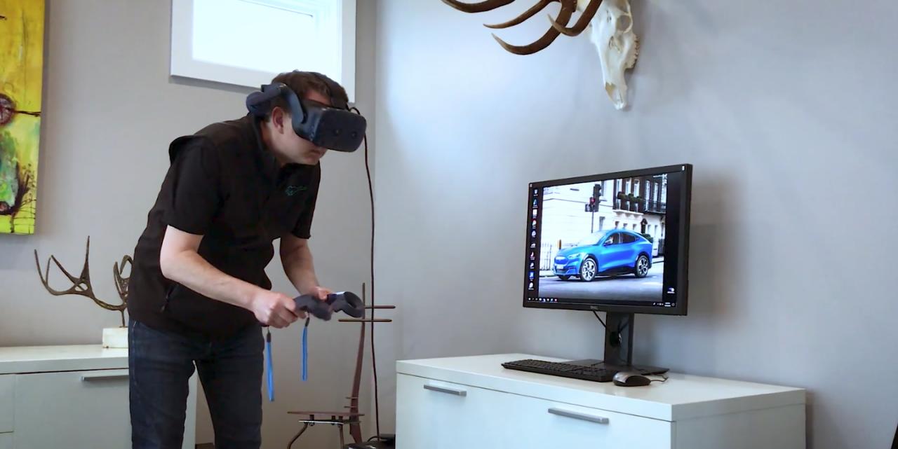 Ford utilise la réalité virtuelle à domicile pour le design de ses véhicules