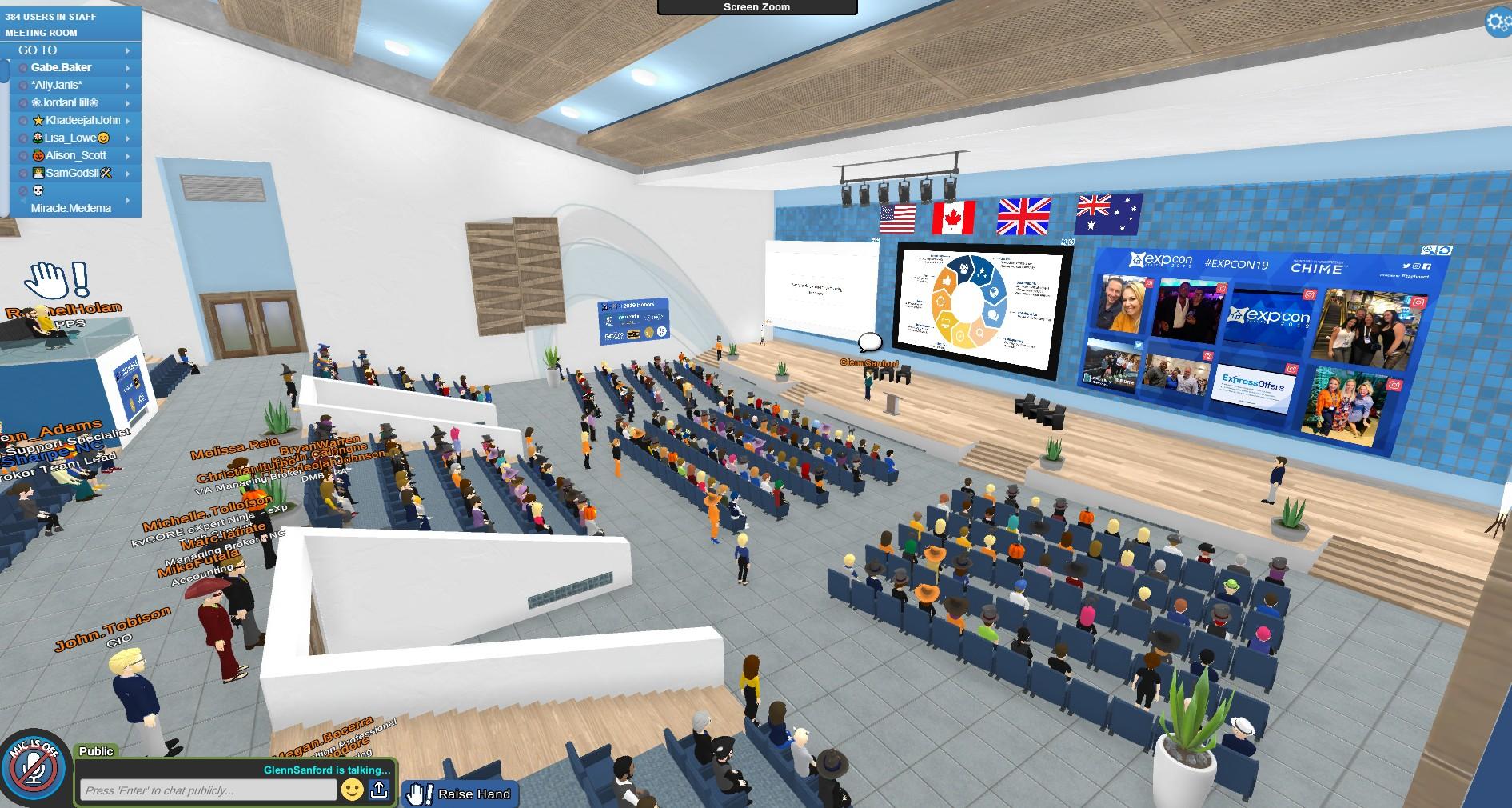 Laval Virtual 2020 sera virtuel via la plateforme VirBELA