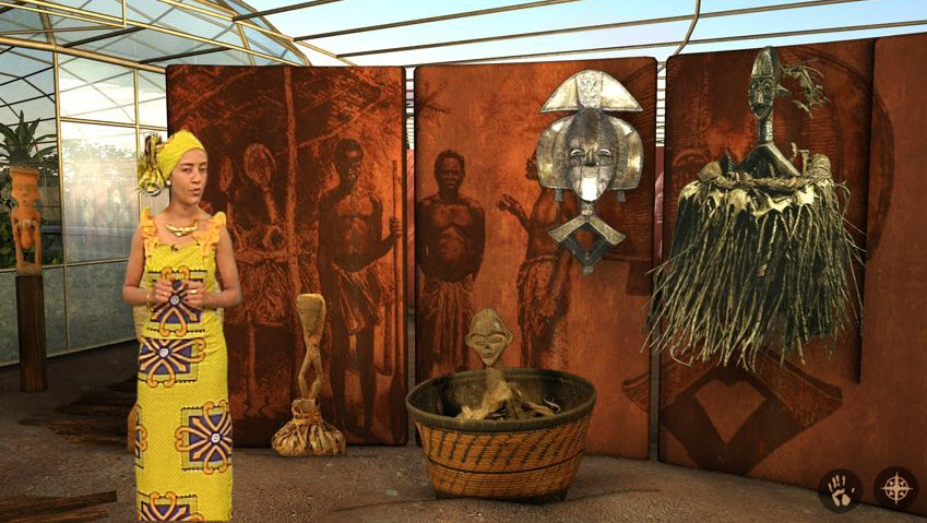 Visite de musées virtuels : le musée virtuel du Gabon