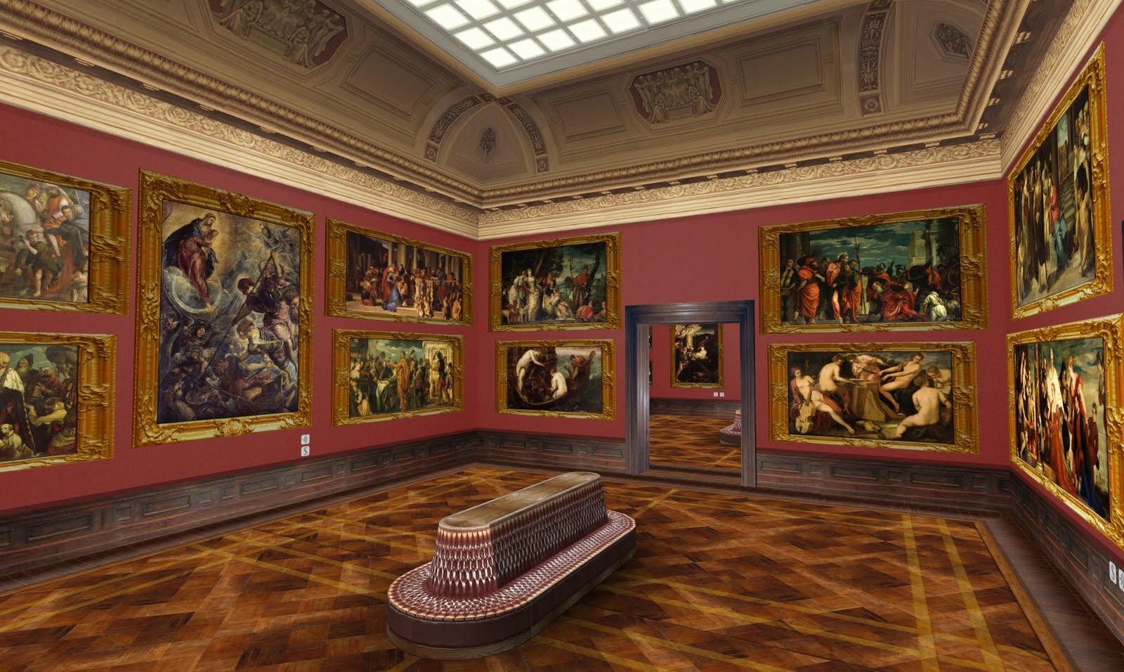 Visite de musées virtuels : la Dresden Gallery