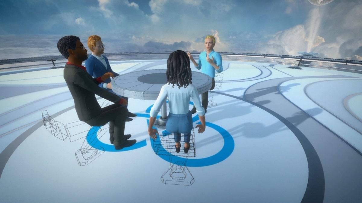 VIVE Sync est une plateforme de réunions en réalité virtuelle