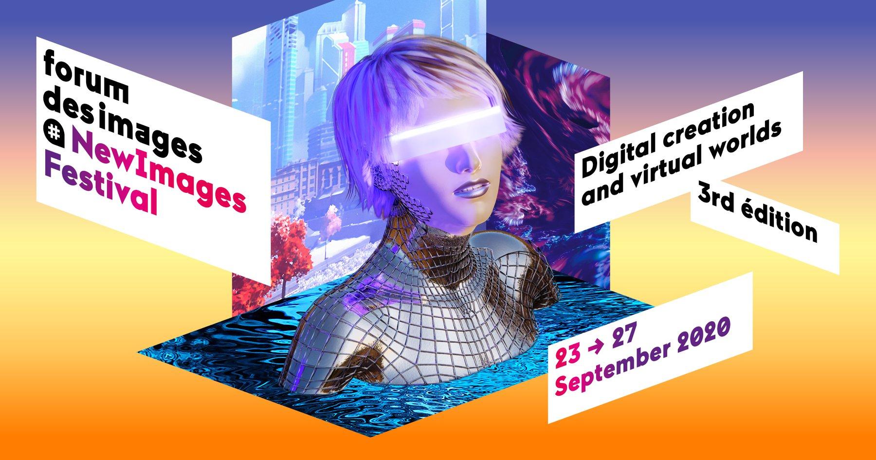 La 3ème édition du festival NewImages du 23 au 27 septembre 2020