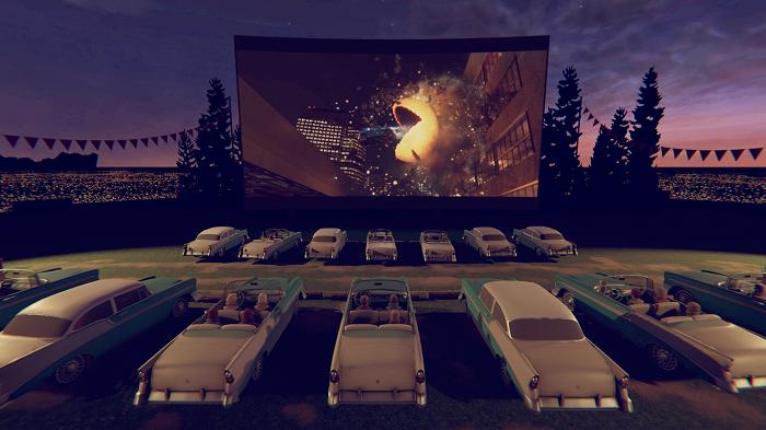 La salle de cinéma virtuelle de CINEVR