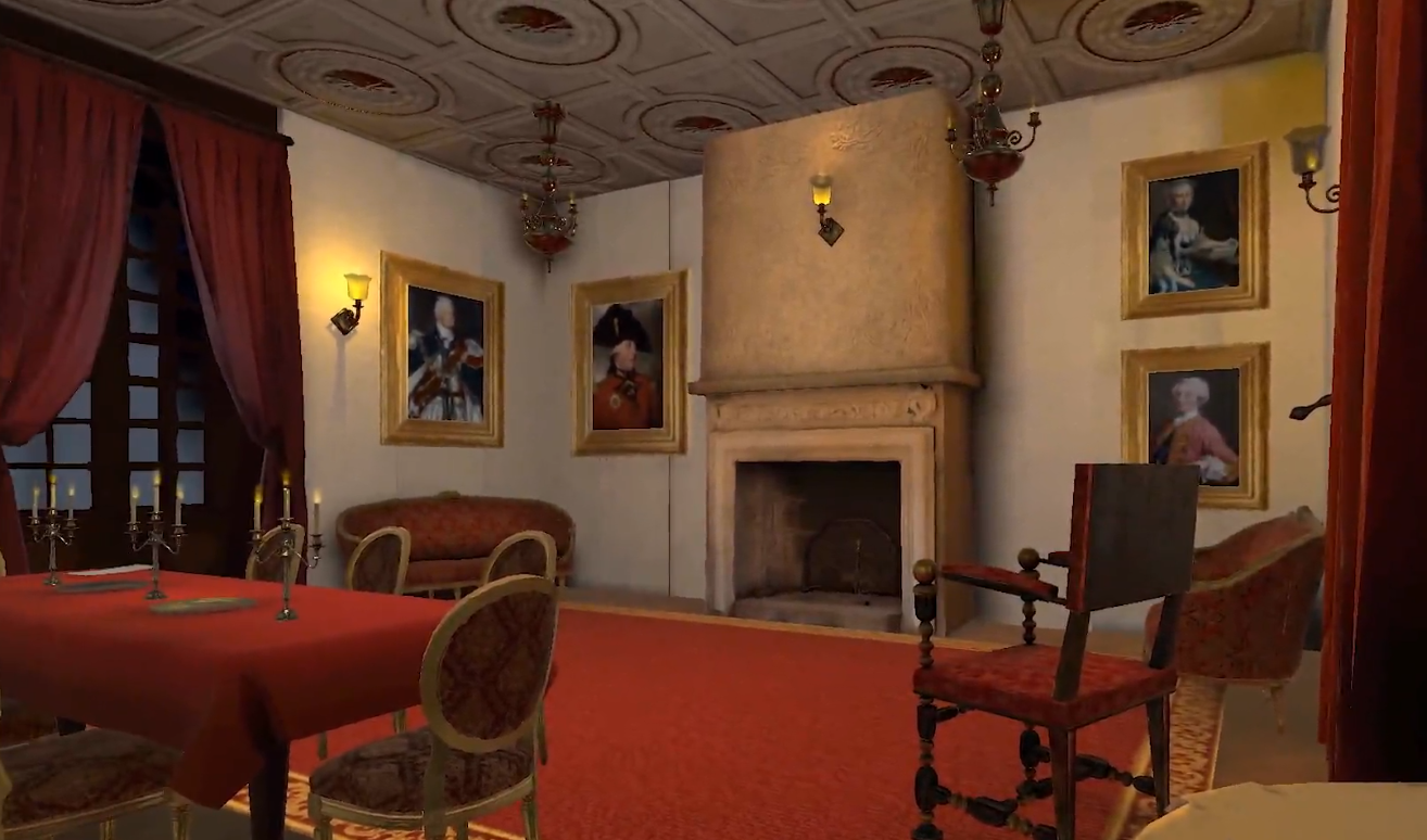 An escape game in virtual reality about the history of Chouans