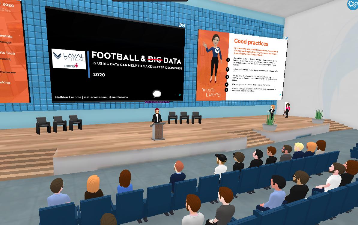 Laval Virtual Days sur la réalité virtuelle dans le sport
