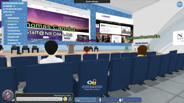 L'école Neoma a construit un campus digital pour faire une rentrée virtuelle