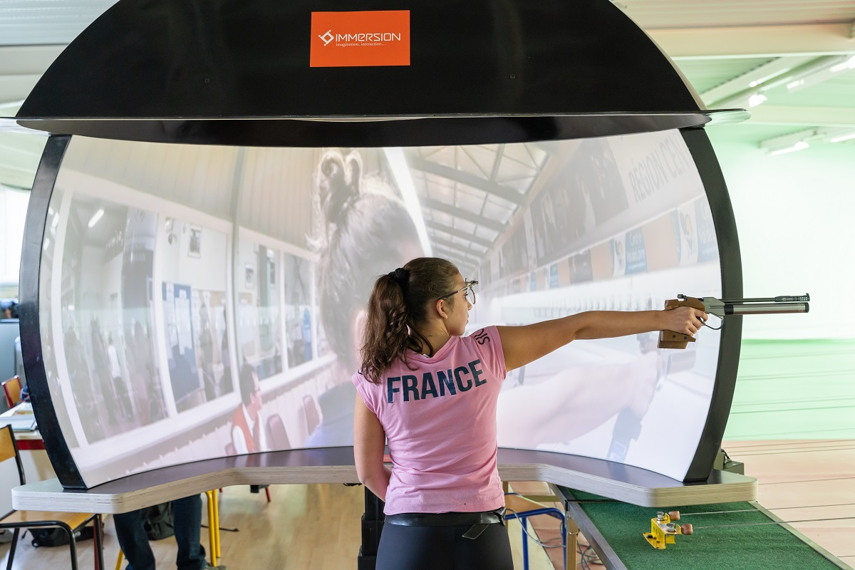 SportTrooper, solution de réalité augmentée pour l'entraînement des athlètes professionnels