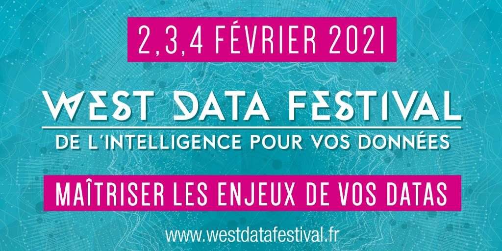 3ème édiition du West Data Festival du 2 au 4 février 2021