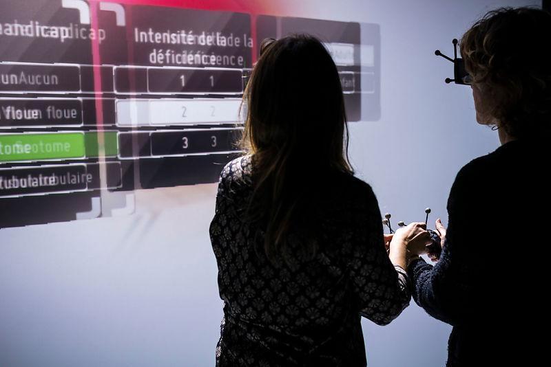 Projet Sensivise des Arts et Métiers sur la réalité virtuelle pour le handicap