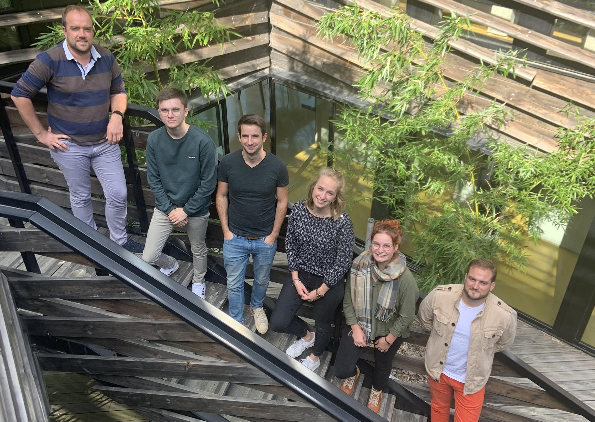 L'équipe de Inod, créateur de solutions immersives à Laval