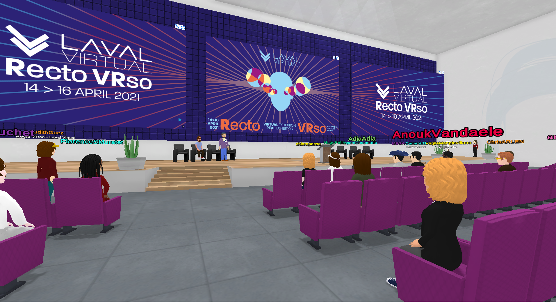 Look back at the 4th edition of the digital art festival Recto VRso by Laval Virtual