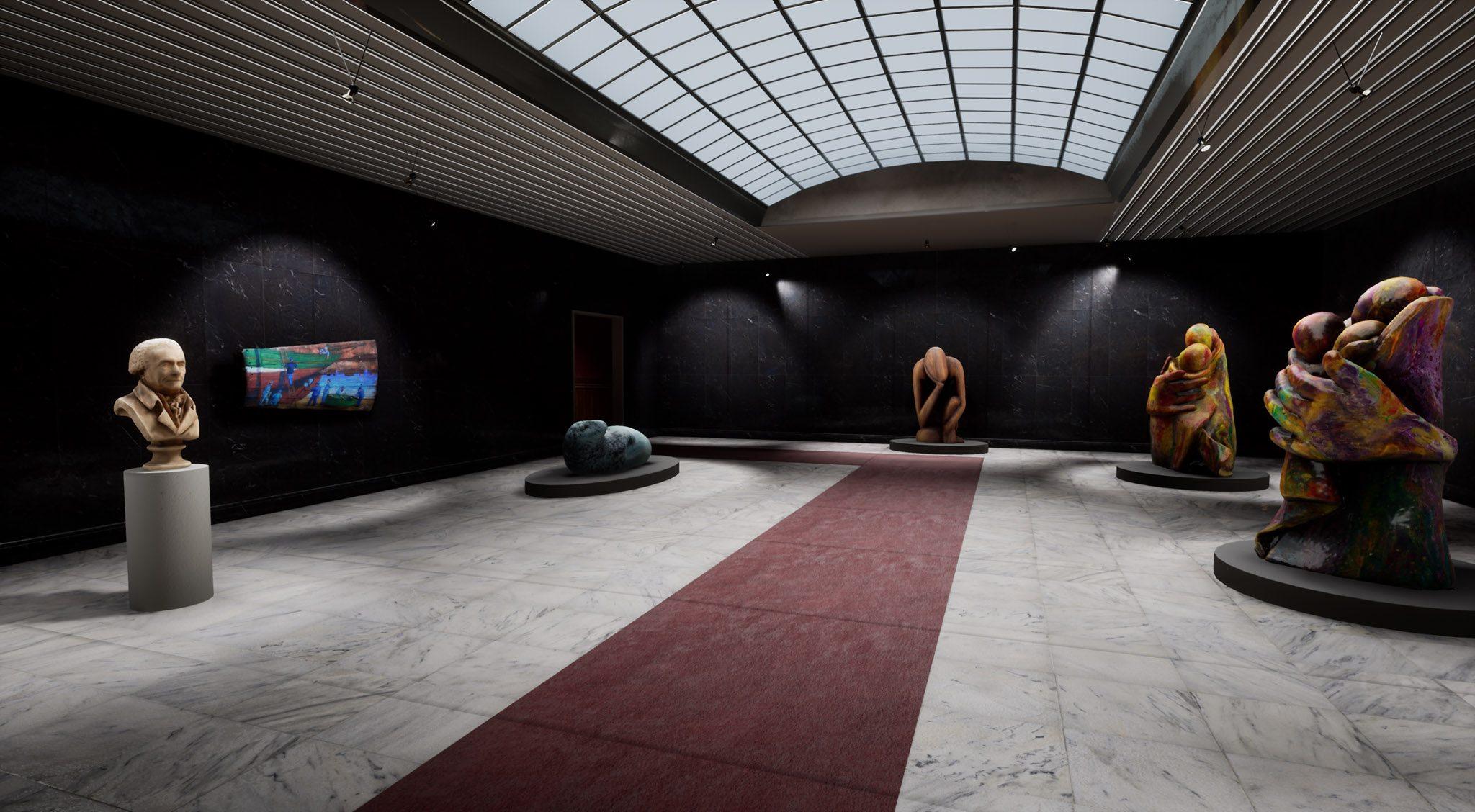 Real Catcher, start-up créée en 2020 et qui crée des musées virtuels