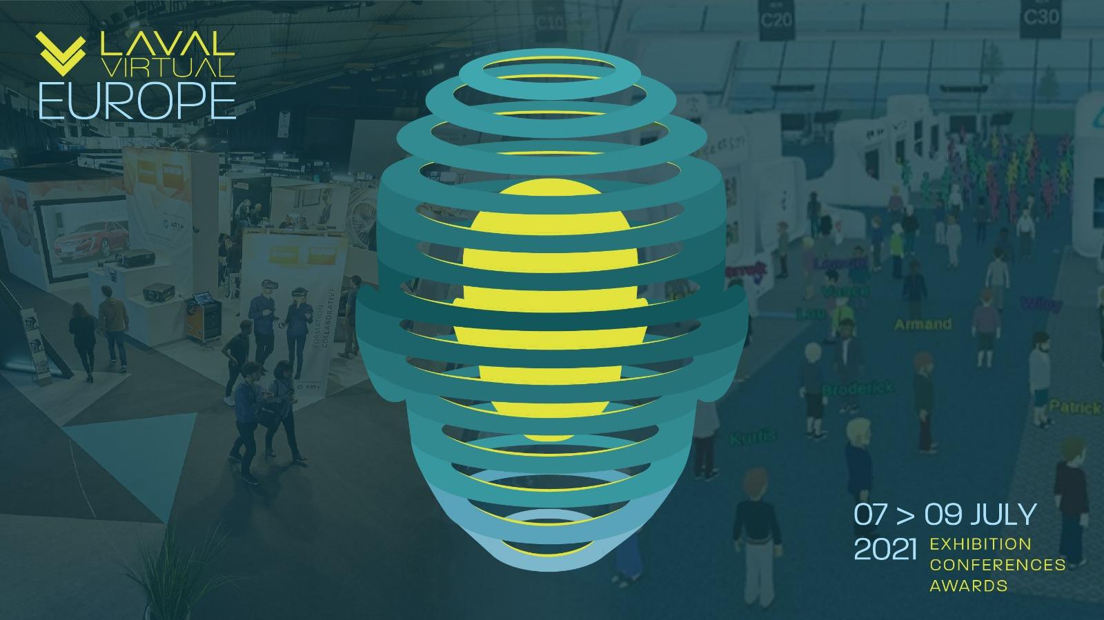 Laval Virtual 2021, hybrid event on July 7-9