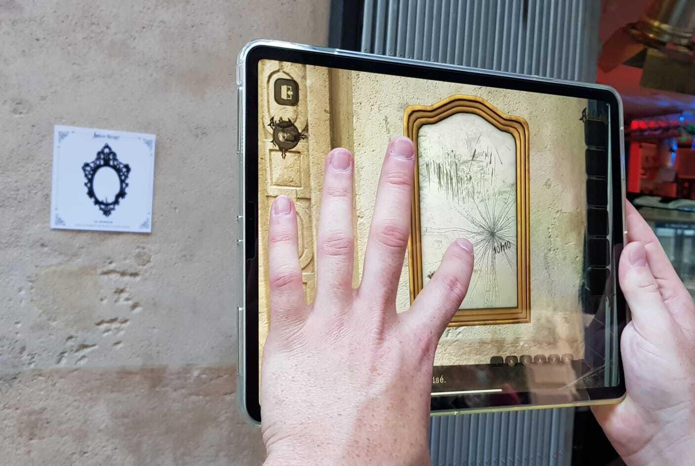 Amelia's Secret: Augmented reality escape game