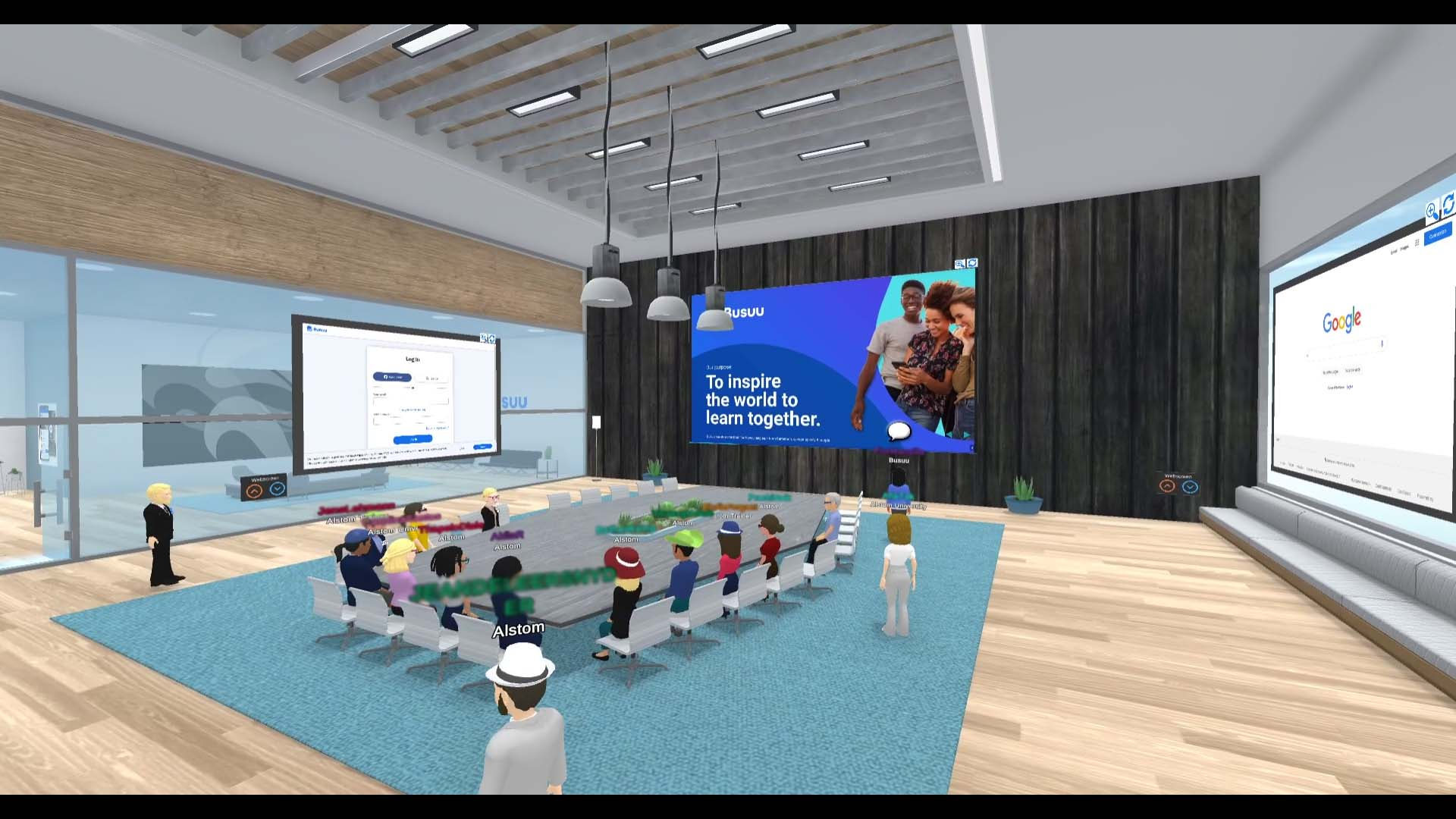 Alstom University collaborated with Komodal by Laval Virtual to organize its Trainers Day event in virtual
