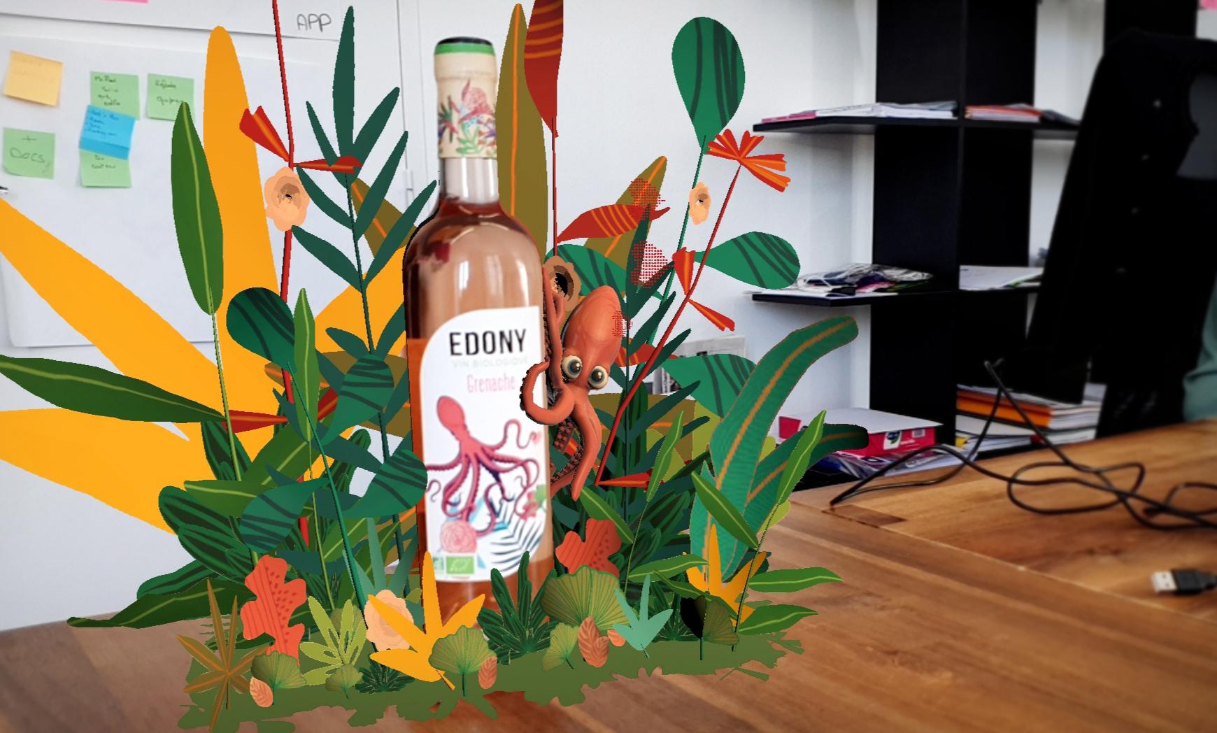 Du vin en réalité augmentée avec Smart Bottle et les Arts et Métiers
